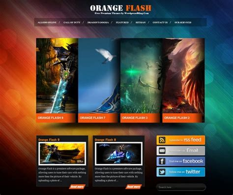 themes in games 20 free and premium wordpress themes for online games