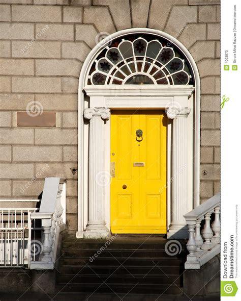 georgian front door colours georgian door in dublin stock photo image 4003870
