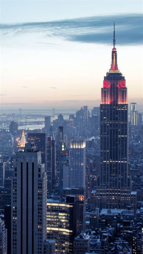 wallpaper  york rockefeller center sky sunrise