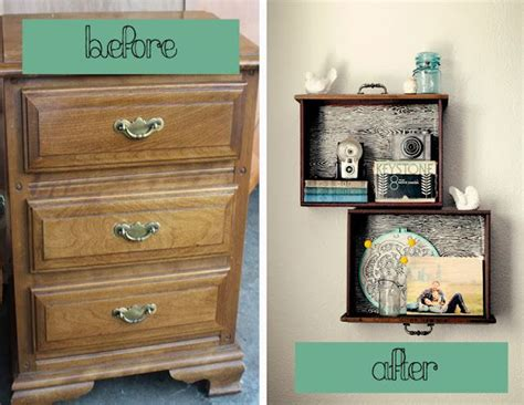 Turn Dresser Drawers Into Shelves by 20 Fabulous Diy Ideas And Tutorials To Transform An