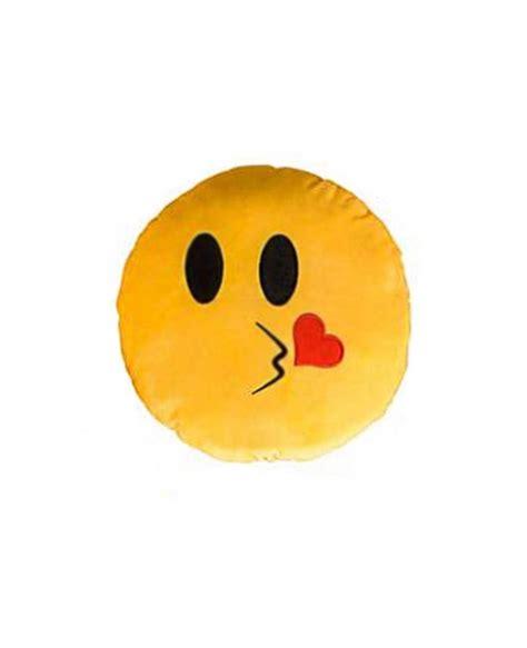 emoji yellow kiss face yellow emoji pillow