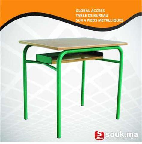 Bureau D ã Tude Casablanca Table De Bureau Sur 4 M 233 Talliques Sal 233 Souk Ma