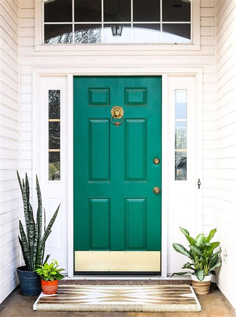 door accent colors for greenish gray 11 front door designs to welcome you home bob vila