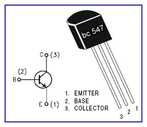 transistor bc547 que es el transistor bc547 www pesadillo
