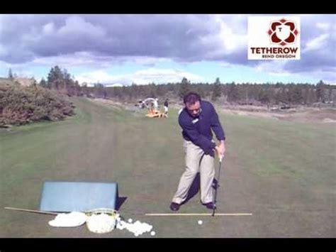 martin chuck golf swing golf pro impact drill martin chuck pga tetherow golf