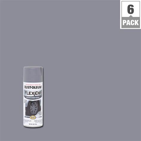 dark gray paint rust oleum flexidip 11 oz dark gray spray paint 6 pack