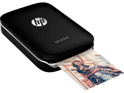 Printer Hp New black sprocket photo printer x7n08a hp 174 sprocket