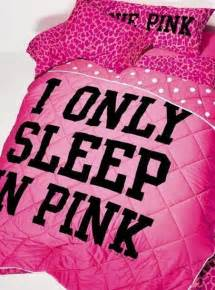 Wishlist galentines day pink by victorias secret quote on it pillow