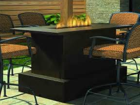 Patio Furniture Fire Pit Table Set by Fire Pit Dining Set Darlee Santa Anita Patio Fire Pit