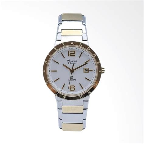 Alexandre Christie Ac6429m Silver Gold jual alexandre christie 8313 sapphire jam tangan wanita silver gold harga kualitas