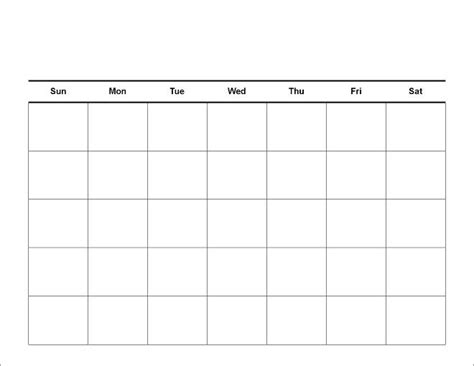 blank calendar dr odd