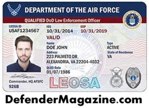 Conceal Carry Weapons Permits vs. LEOSA – The Difference ... Leosa Police