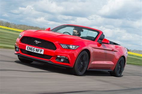 convertible mustang ford mustang convertible ecoboost 2016 review auto express