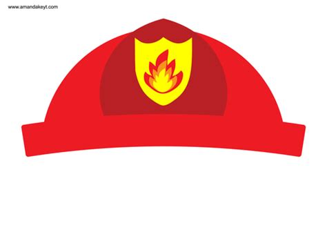 printable fireman hat template fireman hat printable clipart best