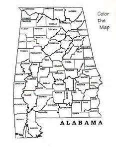 Alabama Blank Map by Alabama Department Of Archives And History Teacher Lesson