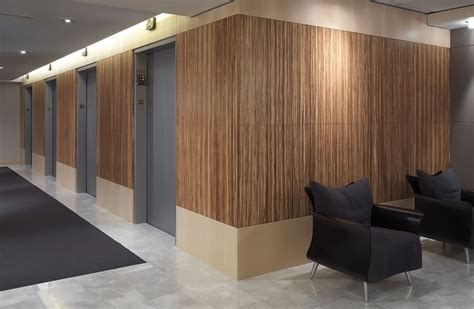 Curved Wall plyboo bamboo paneling neopolitan moss adams plyboo