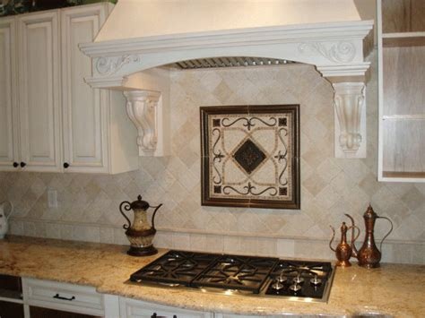 backsplash with accent tiles kitchen backsplash mosaic and metal accent mural