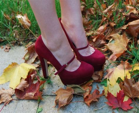 Topshop Fashionalities by Topshop Saffi Oxblood Shoes Raindrops Of Sapphire