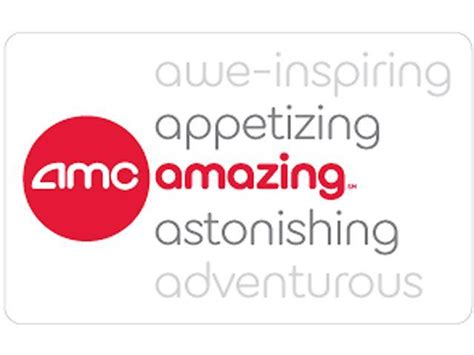 Amc E Gift Card - amc theatre gift card 50 gift card email delivery
