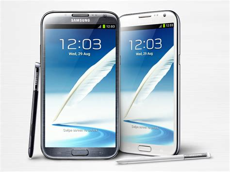 official samsung galaxy note ii specifications images