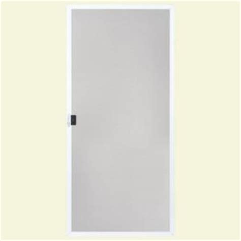 Masonite 36 In X 80 In 36 In White Replacement Screen Replacement Screen For Patio Door