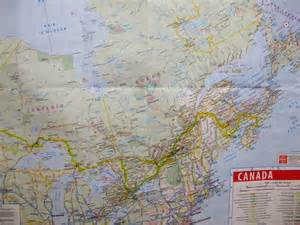 canada road maps road map of eastern canada