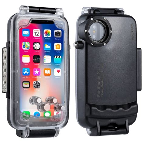r iphone x waterproof for iphone x 40m 130ft professional waterproof diving protective housing photo underwater