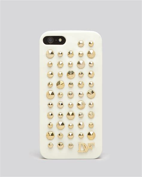Iphone 5 5s Dvf Diane Furstenberg Casing Cover Bumper Armor diane furstenberg iphone 5 5s faceted studs bloomingdale s