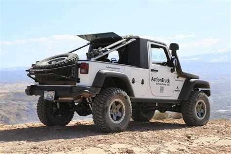 Jeep Truck Conversion Kit Jeep 174 Actiontruck 169 Jk Unlimited Truck Conversion Kit By