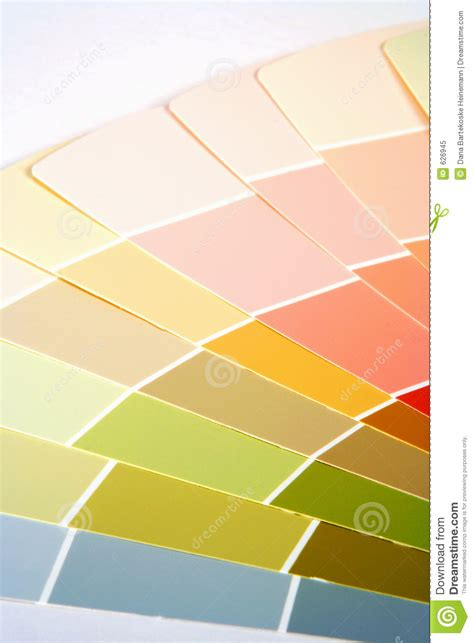 paint swatches royalty free stock photo image 626945