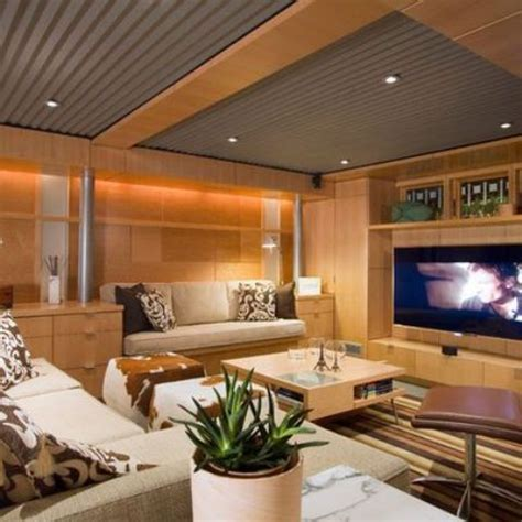 36 Practical And Stylish Basement Ceiling Décor Ideas