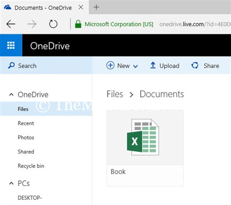 microsoft one drive how to the direct link of microsoft one
