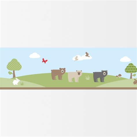 bordure fur kinderzimmer bord 252 re f 252 r kinderzimmer bears