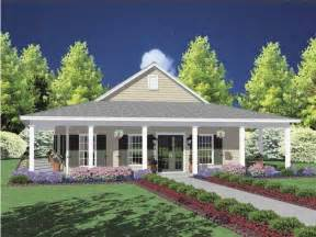 One Story House Plans With Porches One Story House With Wrap Around Porch My House
