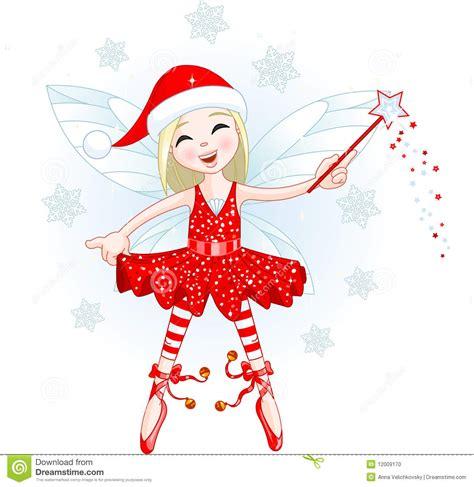 imagenes de navidad hadas poca hada de la navidad stock de ilustraci 243 n imagen de