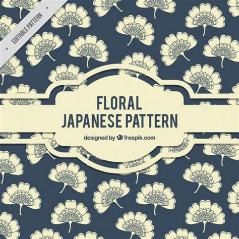 pattern elegance vector download elegant floral japanese pattern vector free download