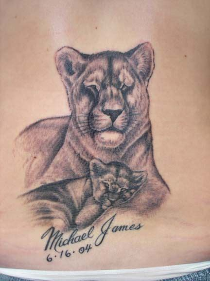 lion and cub tattoo this tattoos tatting and tatoo