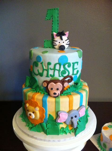 themed birthday cakes alberton jungle themed kids cake jungle themed first birthday