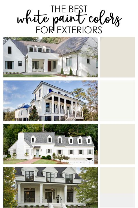 the best exterior white paint colors on virginia