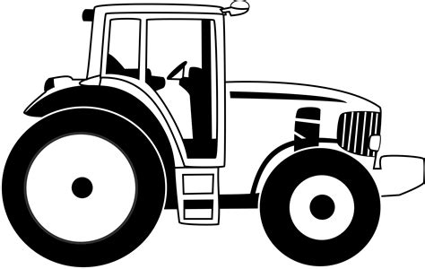 59 Images Of Farm Tractor Clipart  You Can Use These Free Cliparts sketch template