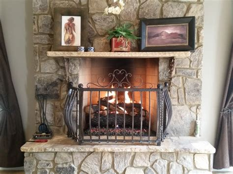 atlanta fireplace specialists gas logs farmhouse bedroom atlanta by atlanta