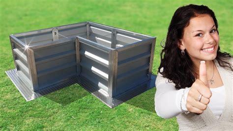 überdachung Selber Bauen Metall by Hochbeet Metall Selber Bauen Kaufen Bausatz Bestellen