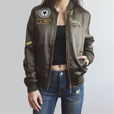 Bomber Jaket Army army bomber jacket jackets review