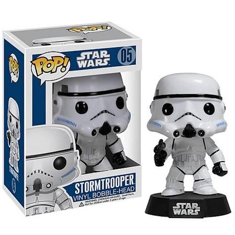 Funko Pop Wars Stormtrooper 5 Pop Funko Wars Vinyl Stormtrooper 05 Bobblehead Robot