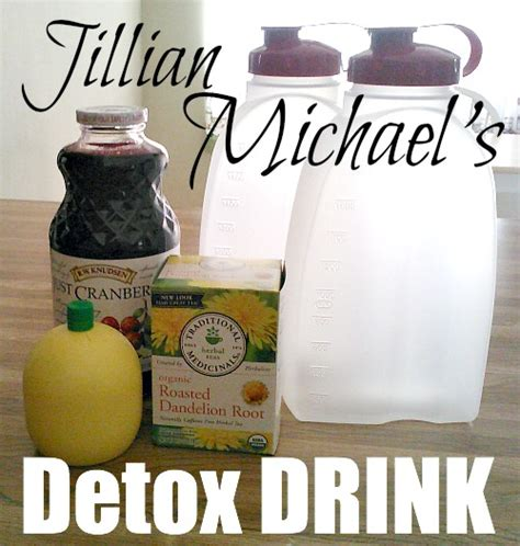 Jillian Detox Drink by Jillian Michael S Detox Drink Pinlavie