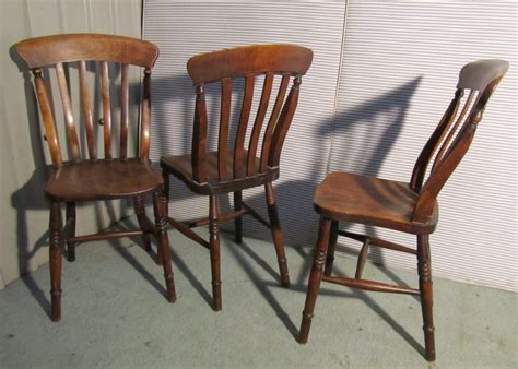 Antique Kitchen Chairs by 6 Set Slat Back Farmhouse Kitchen Chairs
