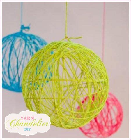 Yarn Chandelier 17 Best Images About Crafty Crafts On String Yarn Chandelier And Armors