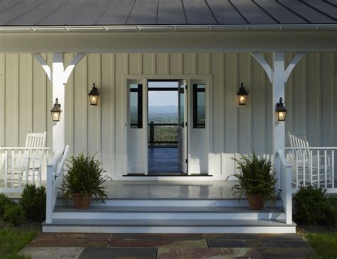 Ridgeside Vineyard Farmhouse Farmhouse Porch other metro by Barnes Vanze Architects, Inc