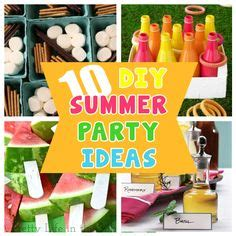 diy summer decorations for home 1000 images about pool party ideas on pinterest pool