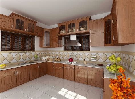 kerala tiles designs  kitchen  modern house